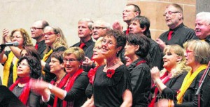 Südkurier Chorus Mundi Konzert Villingen Franziskaner April 2014