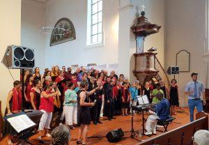 JVOI und Chorus Mundi beim Finale