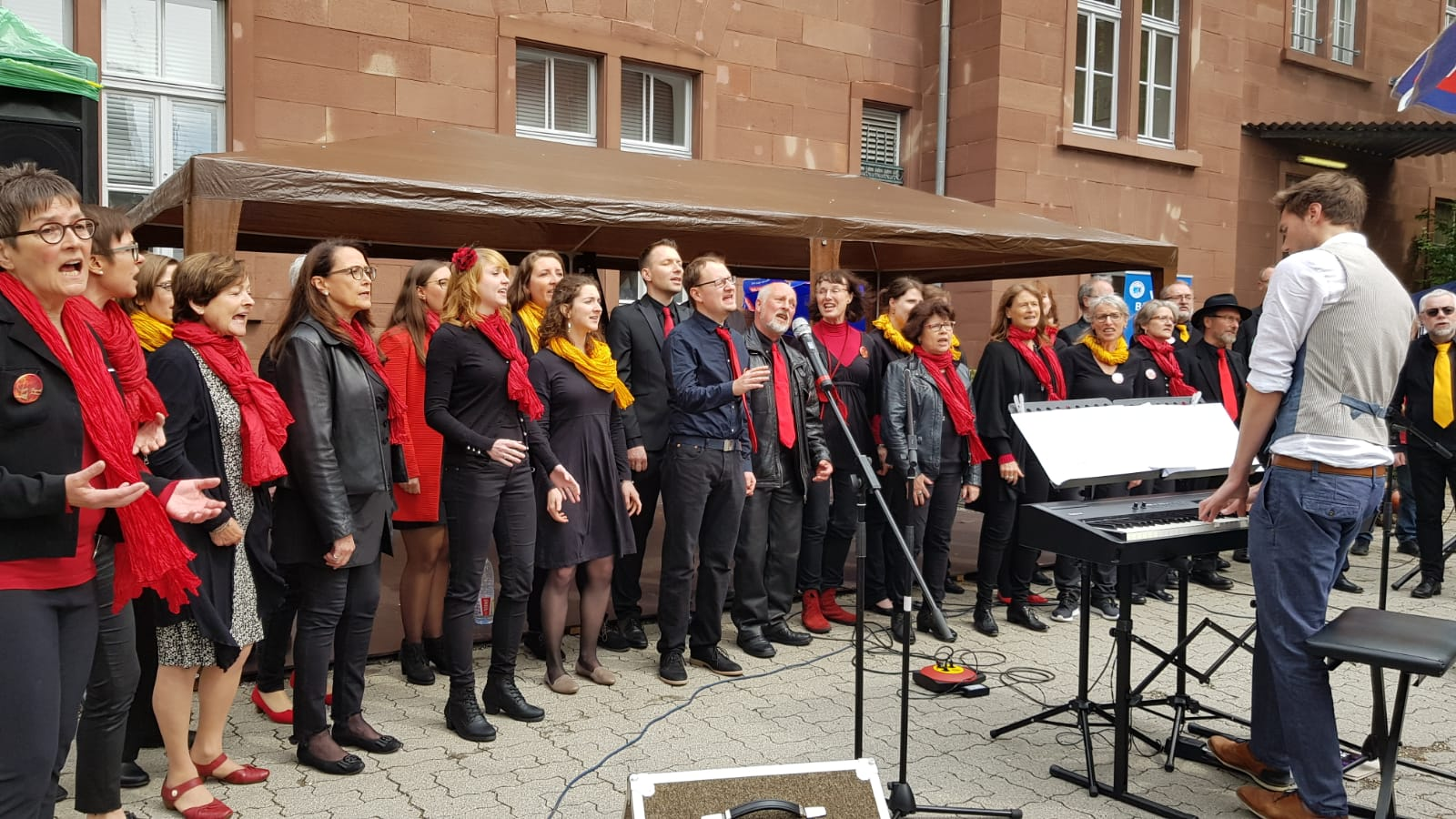 Chorus-Mundi beim Tag des Liedes am 18.5.2019
