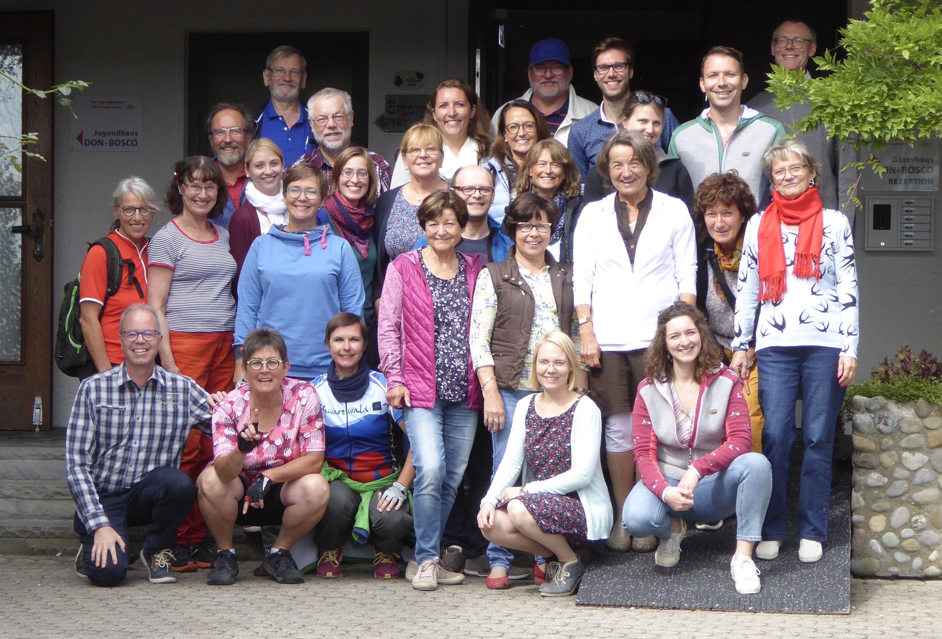 Probewochenende Friedrichshafen Gruppenbild
