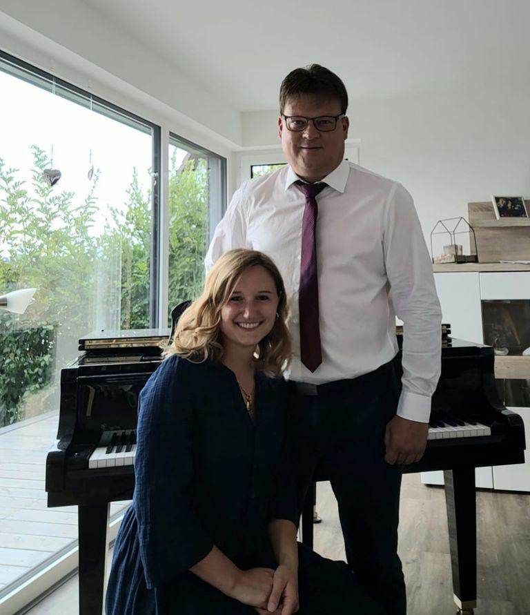 Chorleitung Rolf Wiechert & Julia Voss